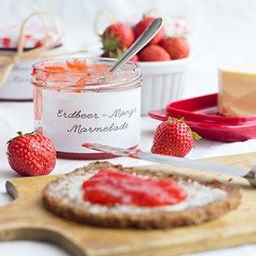 Rezept Erdbeer-Mango-Marmelade