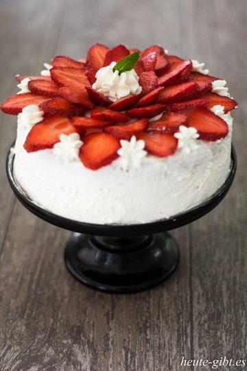 Rezept Erdbeer-Mascarpone-Torte