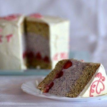 Rezept Erdbeer-Mohn-Torte