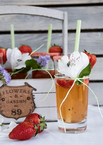 Rezept Erdbeer-Mojito-Bowle