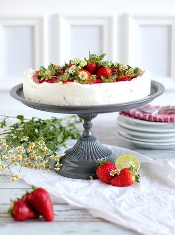 Rezept Erdbeer-Mojito Torte