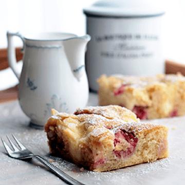Rezept Erdbeer-Puddingkuchen vom Blech