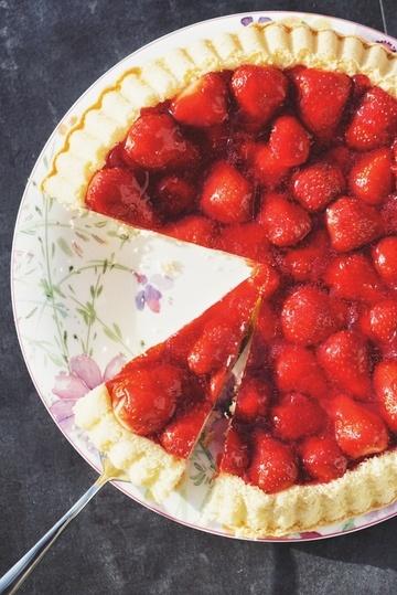 Rezept Erdbeer-Puddingtorte