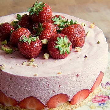 Rezept Erdbeer-Quark-Törtchen