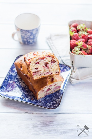Rezept Erdbeer Quickbread