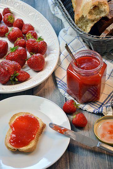 Rezept Erdbeer-Rhabarber-Marmelade mit Vanille