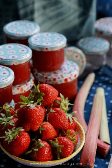 Rezept Erdbeer-Rhabarber Marmelade