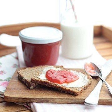 Rezept Erdbeer-Rhabarber-Marmelade