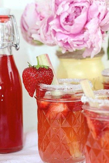 Rezept Erdbeer-Rhabarber-Sirup