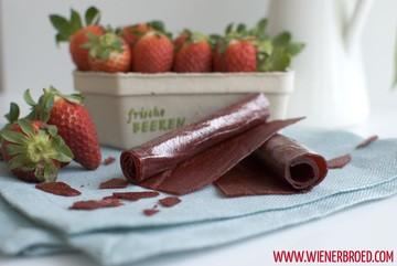 Rezept Erdbeer-Roll-Ups (Fruchtleder)
