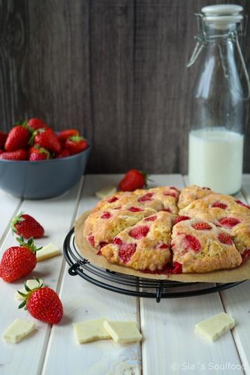 Rezept Erdbeer Scones