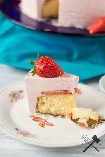 Rezept Erdbeer-Stich Torte