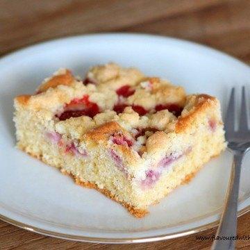 Rezept Erdbeer-Streuselkuchen