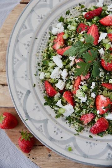 Rezept Erdbeer Tabouleh mit Feta