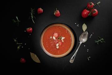 Rezept Erdbeer-Tomaten-Suppe