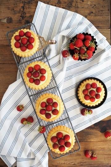 Rezept Erdbeer-Torteletts