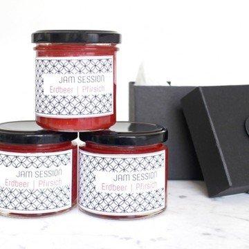 Rezept Erdbeer Weinbergpfirsich Marmelade