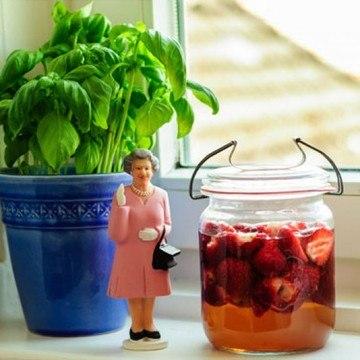 Rezept Erdbeeressig