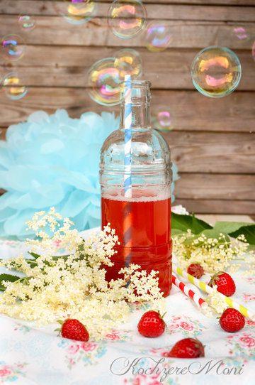 Rezept Erdbeerlimonade mit Vanille