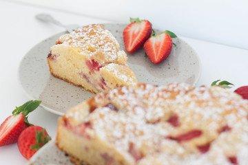 Rezept Erdbeerstreuselkuchen