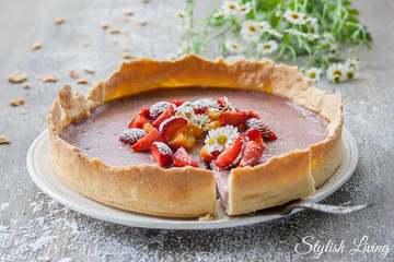 Rezept Erdbeertarte zum Verlieben