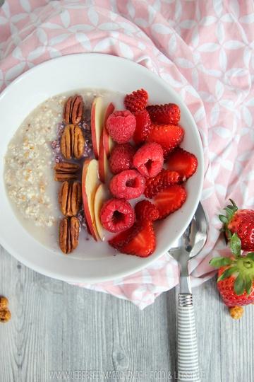 Rezept Erdmandel-Porridge zum Frühstück