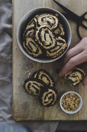 Rezept Erdnuss-Schnecken