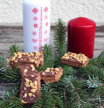 Rezept Erdnuss-Schokoladen Stangen