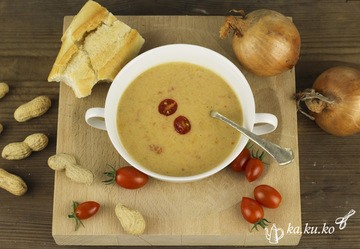Rezept Erdnuss-Tomaten-Suppe