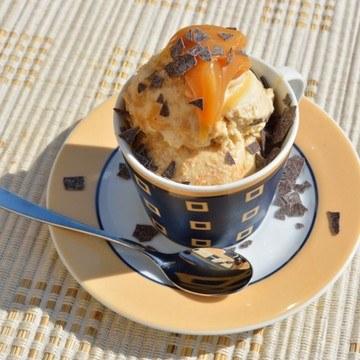 Rezept Erdnussbuttereis – wie ein Snickers