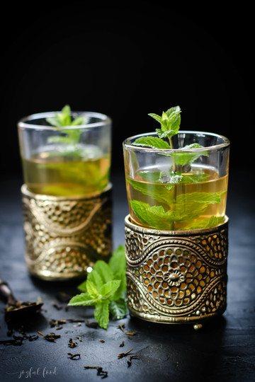 Rezept Erfrischender marokkanischer Minztee