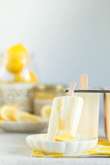 Rezept Erfrischendes Lemoncurd-Eis