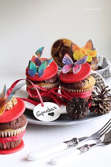 Rezept Espresso-Schokoladen-Cupcakes