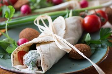 Rezept Falafel (Wrap)