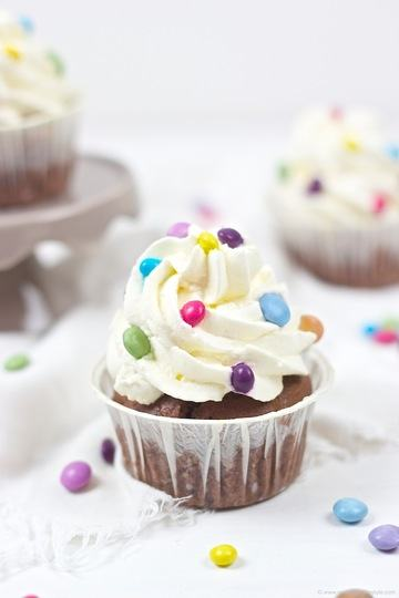 Rezept Faschingscupcakes