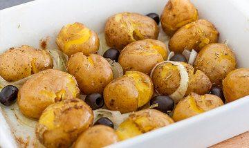 Rezept Faustschlag-Kartoffeln (Batatas ao murro)
