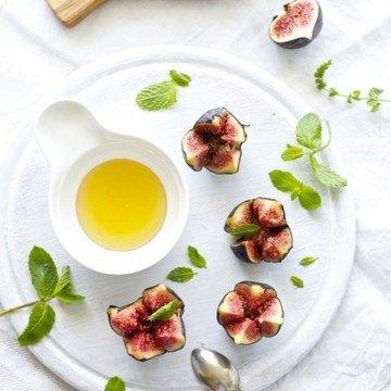 Rezept Feigen mit Minze und Honig