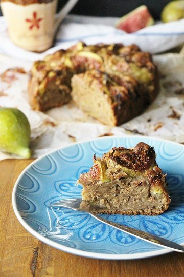 Rezept Feigenkuchen mit frischen Feigen