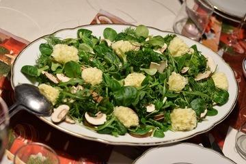 Rezept Feinschmeckersalat mit Tête de Moine
