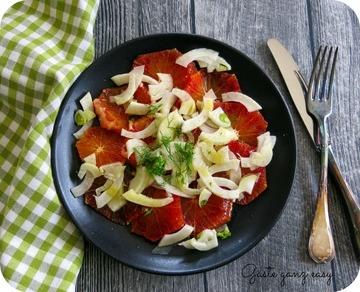 Rezept Fenchel-Blutorangen-Salat