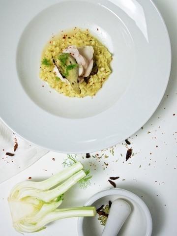 Rezept Fenchel-Chili-Risotto mit Seeteufel