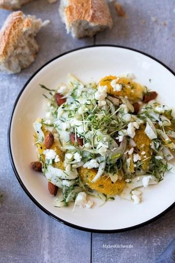 Rezept Fenchelsalat mit Mandeln und Orange