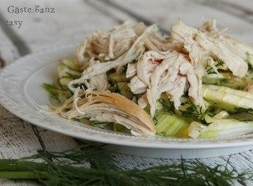 Rezept Fenchelsalat mit Pulled Chicken