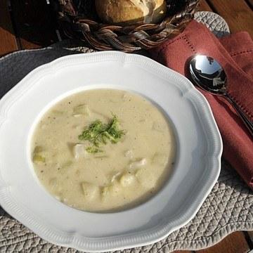 Rezept Fenchelsuppe mit Käse