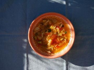 Rezept Fenchelsuppe mit Zucchini und Tomaten