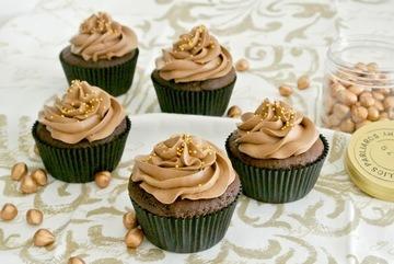 Rezept Ferrero Rocher Cupcakes