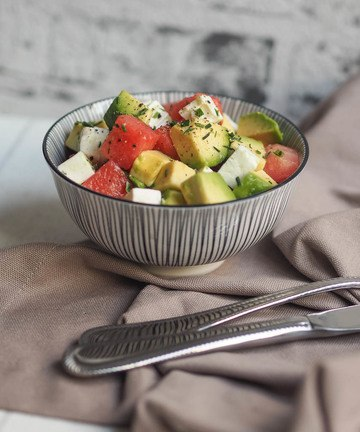 Rezept Feta-Avocado-Wassermelonen-Salat