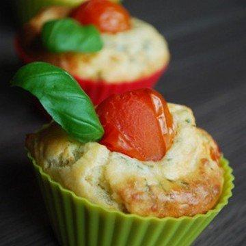 Rezept Feta-Tomaten-Muffins