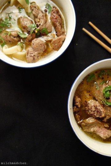 Rezept Fette Brühe mit Biang-Biang und Kreuzkümmel-Lamm