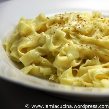 Rezept Fettucine Alfredo - Alfredonudeln